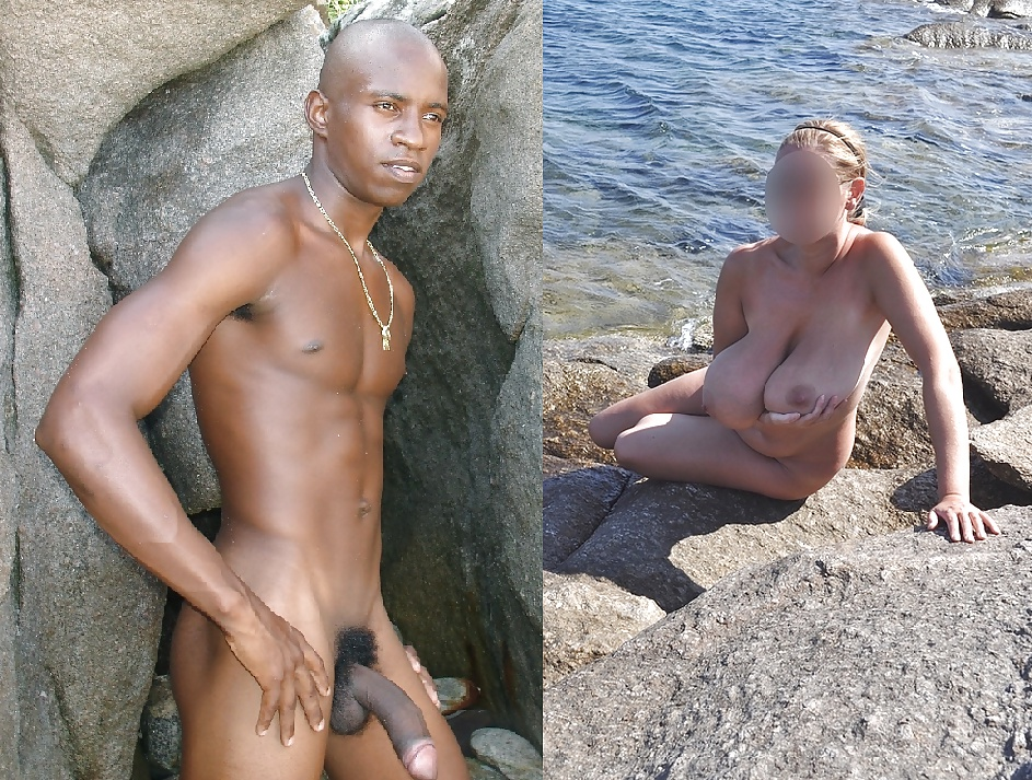 Naked wife used by black