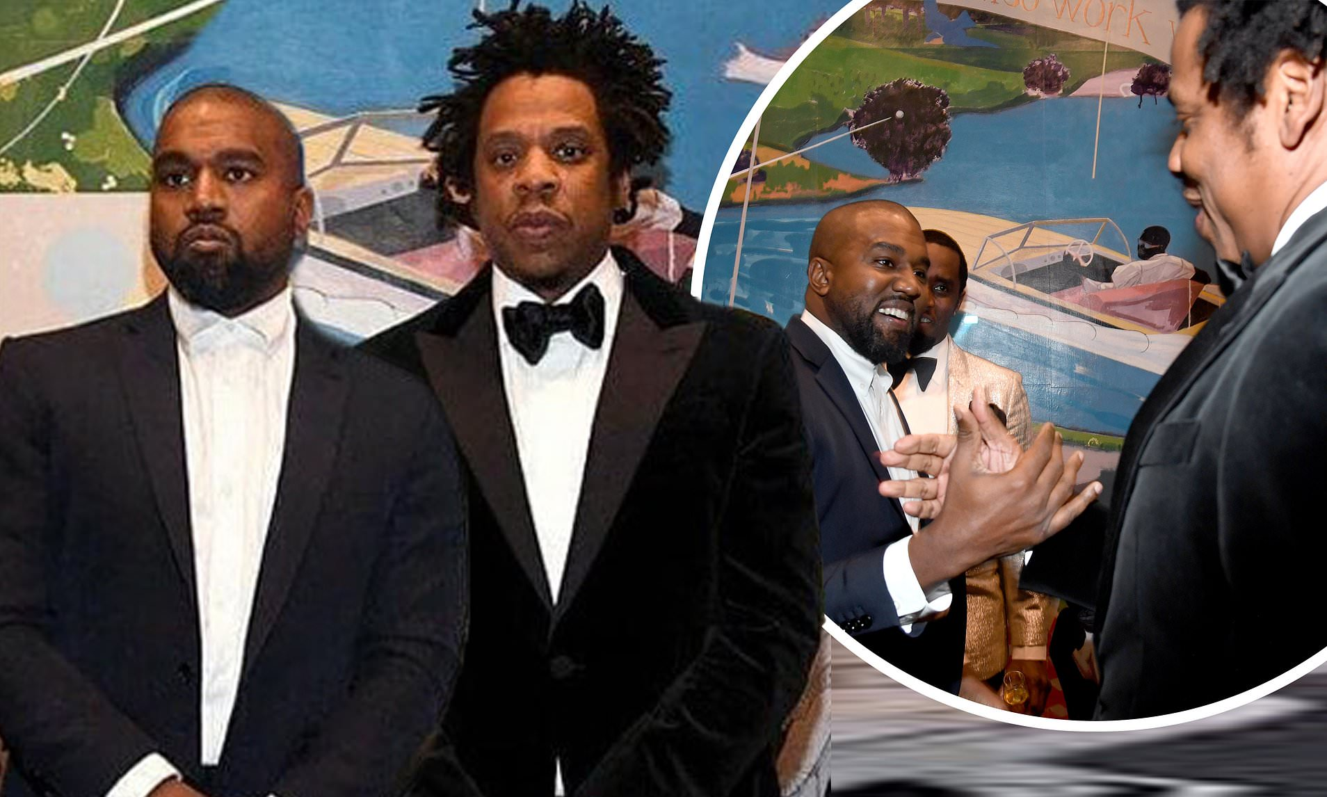 What happened to kanye west and jay z