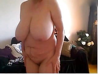 Hamster mature woman with big boobs