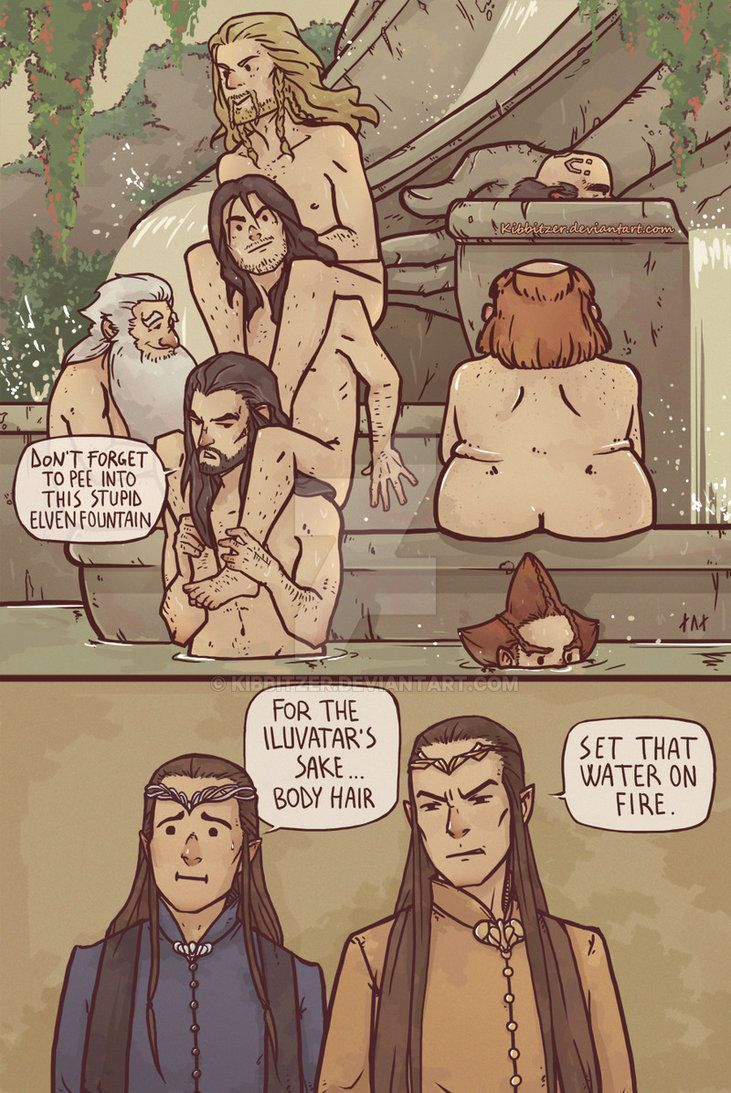 Lord of the rings naked